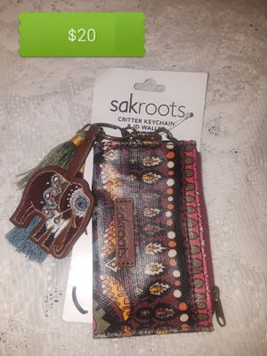 Sakroots Critter keychain and wallet for sale  Tulsa, OK