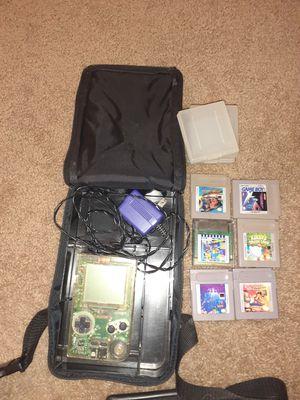 Photo Gameboy plus 6 games with original case