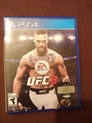 PS4 UFC 3 for Sale in Cahokia, IL