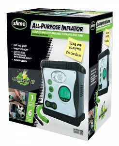Slime 40028 Rechargeable All-Purpose Auto Car Tire Raft Inflator for Sale in Hyattsville, MD
