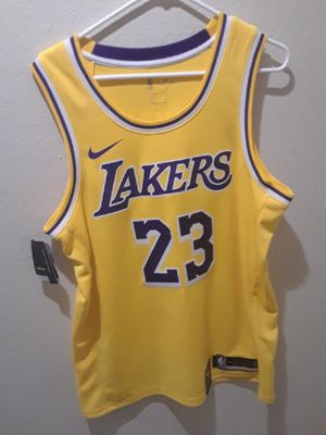 more photos 48989 96a38 New and Used Lakers jersey for Sale in Maple Valley, WA ...