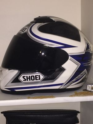 Xxl shoei motorcycle helmet for Sale in Centreville, VA