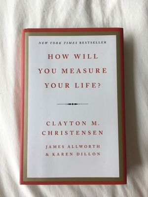 How Will You Measure Your Life? Clayton M. Christensen for Sale in Baltimore, MD