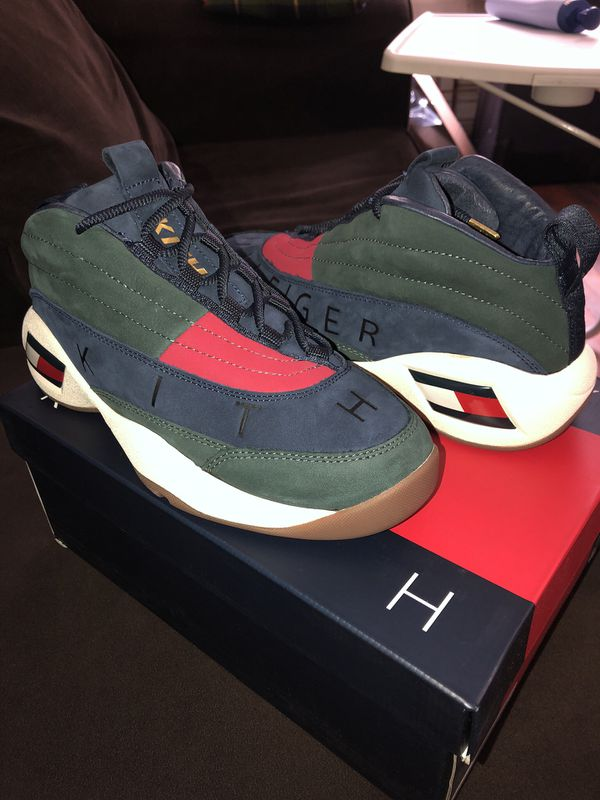 7cf2cc712faec Kith x Tommy Hilfiger Skew B-ball Sneaker US 6 for Sale in Brooklyn ...