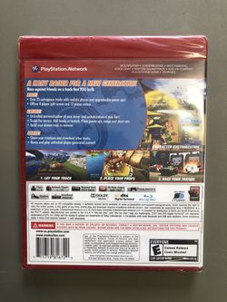PlayStation 3 ModNation Racers Video Game (New) Thumbnail