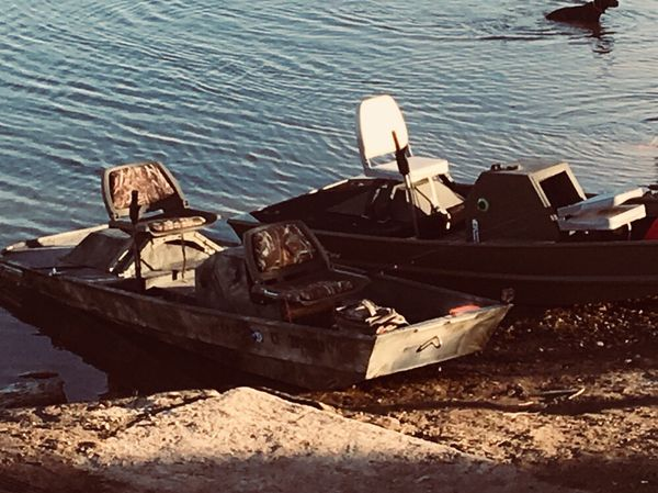 Jet jon boats for sale in escondido ca offerup for Jon boat with jet motor