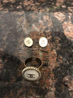 Matching set CC earrings & ring for Sale in Paulden, AZ