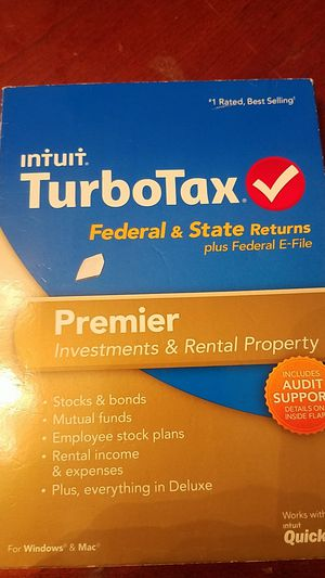 Intuit turbotax premier investments & rental property for Sale in Port Richey, FL