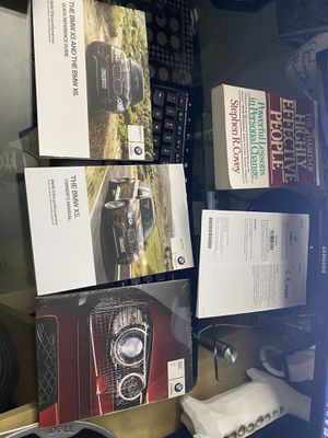 Photo BMW X5 Manual + unopened service and warranty info