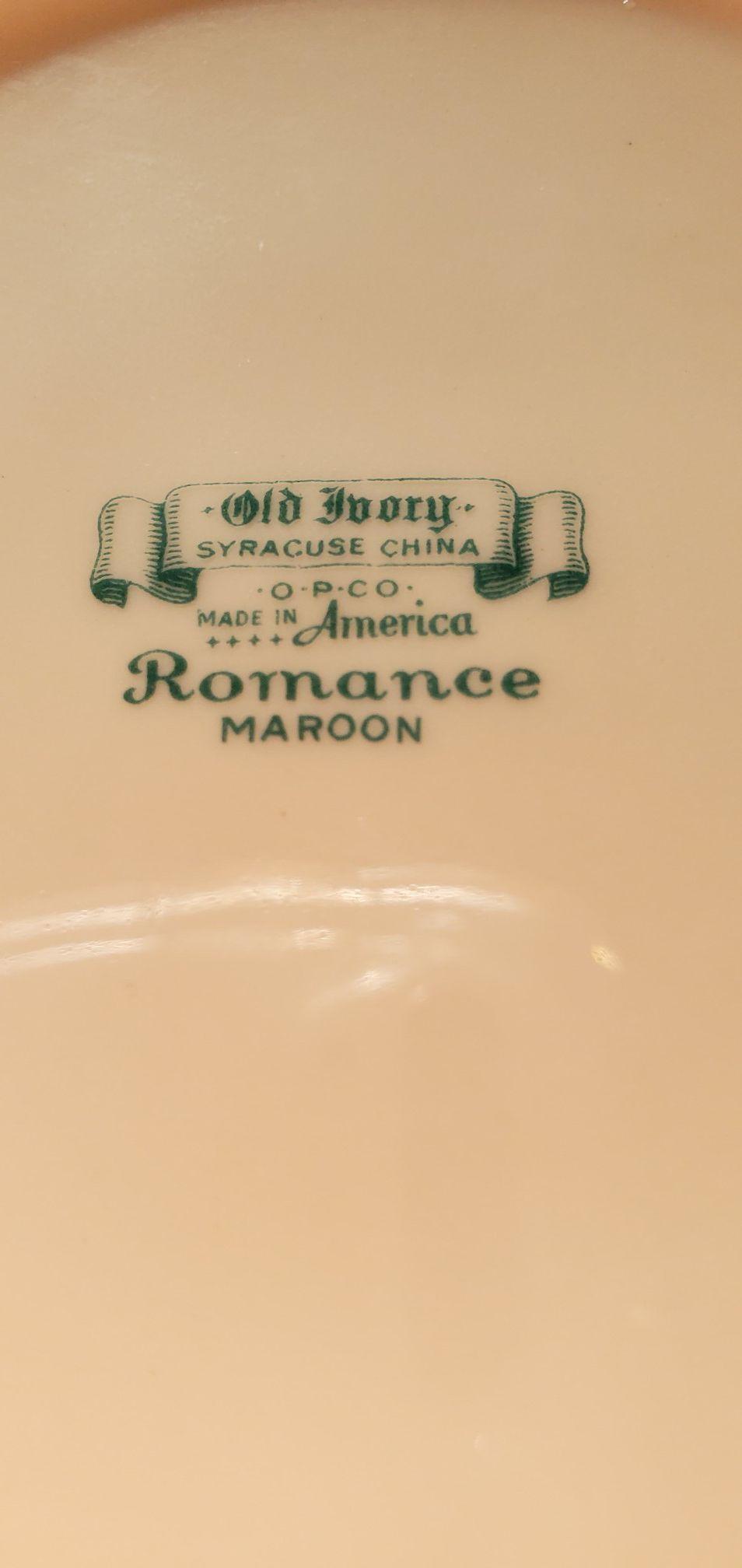 Syracuse China - Romance