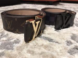 Louis Vuitton Belt Size 34 for Sale in Springfield, VA