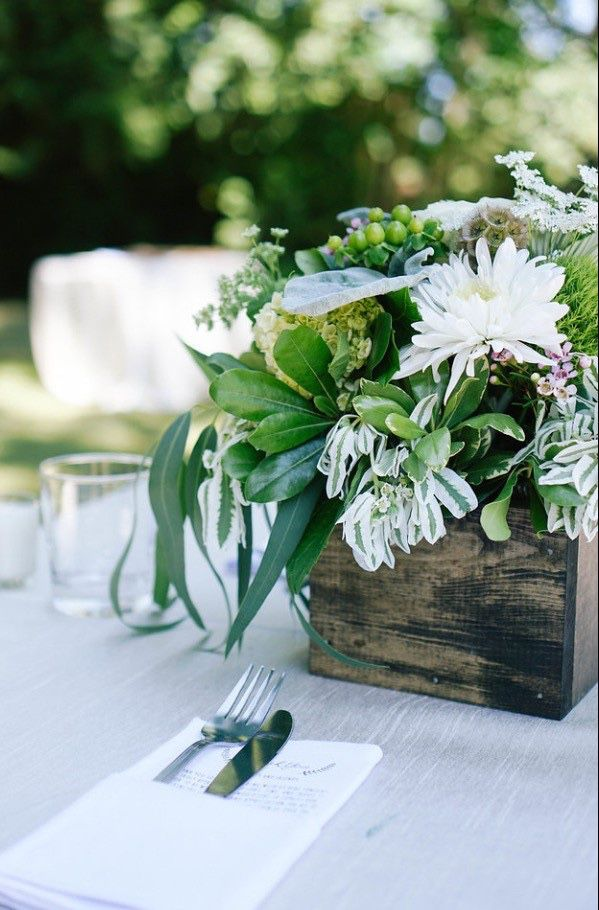Custom Built Wood Boxes for wedding or event