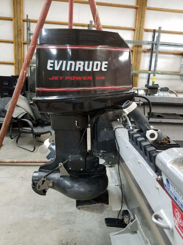 Evinrude jet outboards