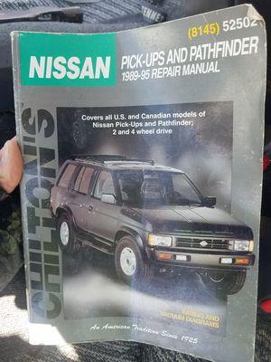 Photo Chilton's Nissan repair manual 1989-95
