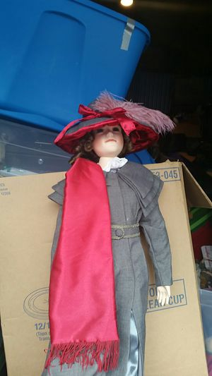 Red hatter doll for Sale in OR, US