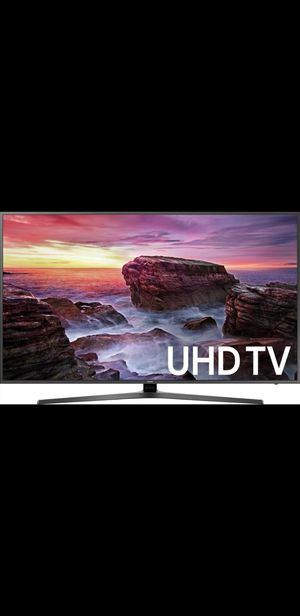 "Samsung - 58"" Class - LED - MU6070 Series - 2160p - Smart - 4K Ultra HD TV with HDR for Sale in Glen Allen, VA"