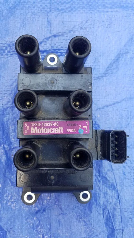 Ignition Coil Pack for Ford Mercury V6 1F2U-12029-AC C1312 DG485 FD498 4 2L  3 0L 3 9L 4 0L for Sale in Dallas, TX - OfferUp