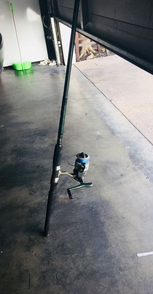 Fishing Pole 7ft & Reel ZBECO RT series spin Cast combo for Sale in Huntington Park, CA