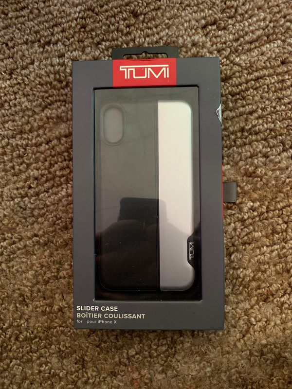 6fb7a9e52ead37 TUMI iPhone X/ iPhone Xs slider case Brand New Unopened for Sale in ...