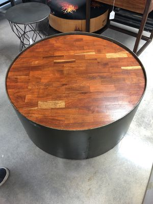 """Large rustic Bohemian style coffee table - 35 1/2"""" x 35 1/2"""" x 16"""" for Sale in Miami, FL"""