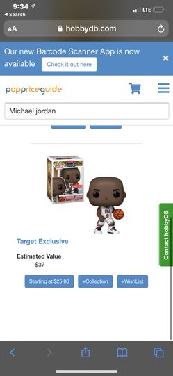 Michael Jordan Funko Pop  Thumbnail