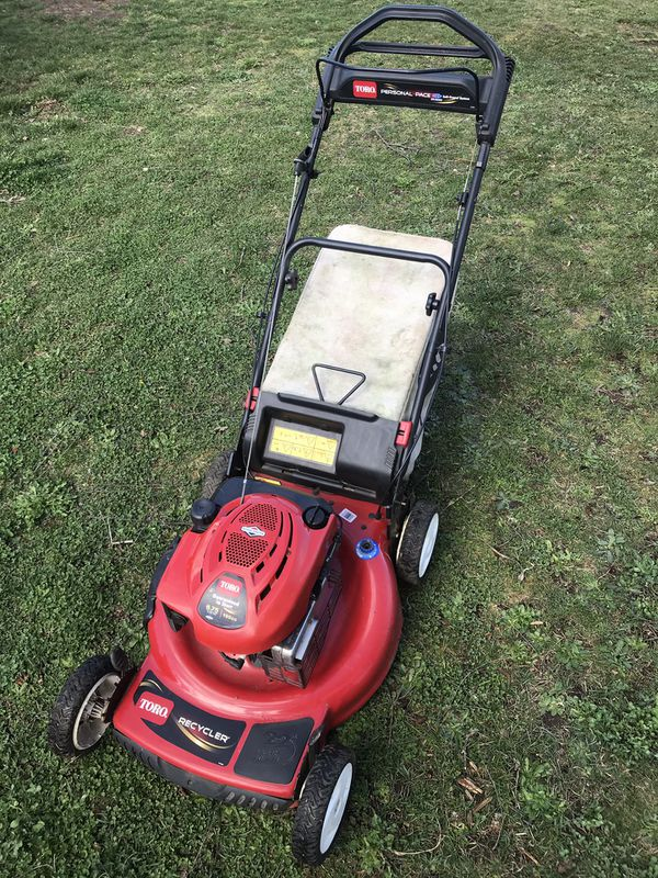 Toro Recycler 22 Quot 190cc Personal Pace Lawn Mower W