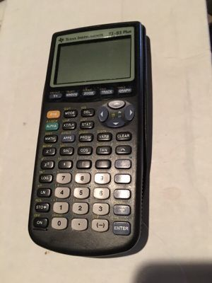 TI 83 Plus graphing calculator for Sale in Los Angeles, CA