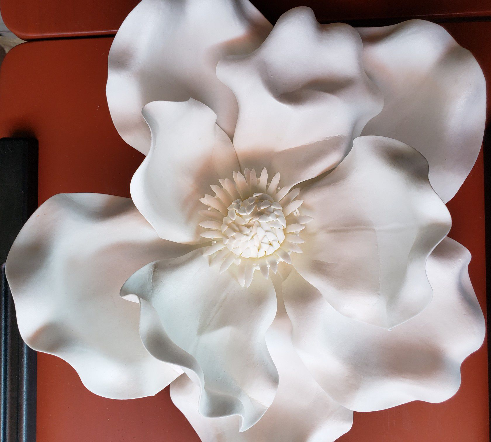 White flower for wedding decoration or any decoration. I have 6.