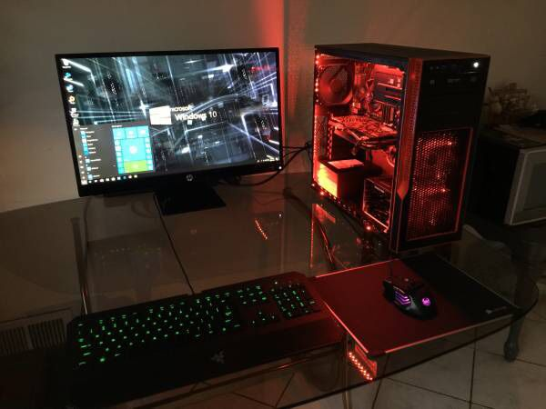Supermicro Gaming S5, Intel Core i5 3 7GHZ Custom Gaming Computer for Sale  in San Jose, CA - OfferUp