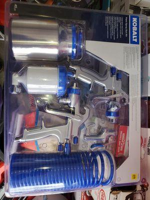 Photo Kobalt paint spray kit Brand new in box@