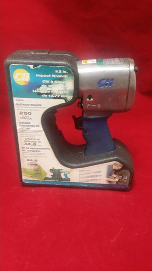 CAMPBELL HAUSEFELD IMPACT WRENCH 1/2 INCH 250 FT. LBS. OF TORQUE for Sale in Orlando, FL