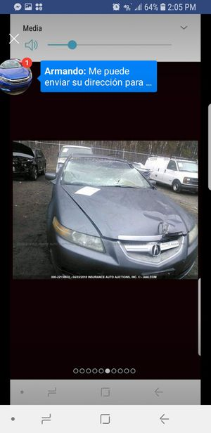 Only for parts ACURA TL 2004-2006 for Sale in Springfield, VA