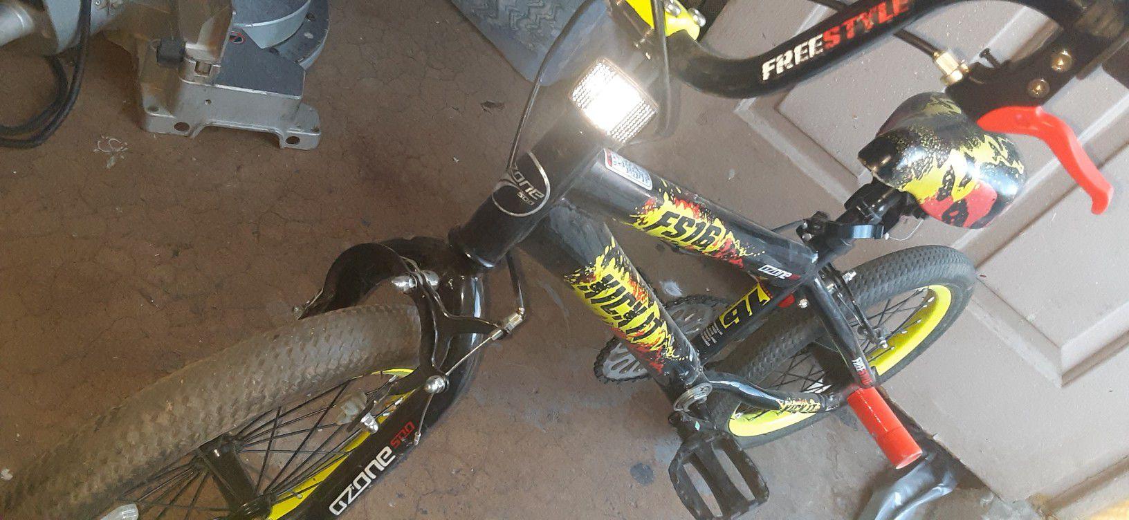 Ozone FS kick it kids bike