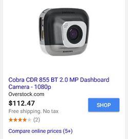 Brand new Cobra Drive dash cam Cdr 835 Thumbnail