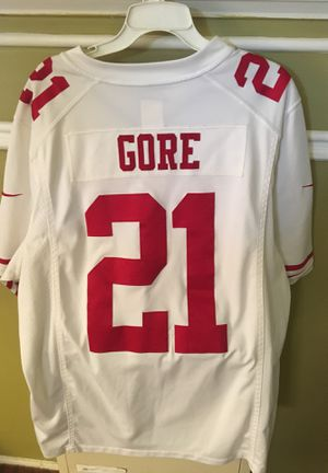 lowest price 8fc4a 8e43c San Francisco 49ers away Frank Gore 21 Jersey for Sale in Los Angeles, CA -  OfferUp