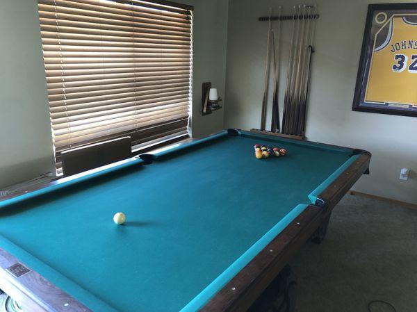 DelMo Pool Table For Sale In Yakima WA OfferUp - Delmo pool table