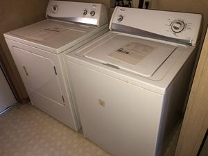 Amana Washer and Dryer for Sale in Tacoma, WA