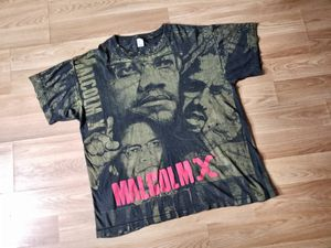 Vintage Malcolm X Double Sided Single Stitch Shirt for Sale in Washington, DC