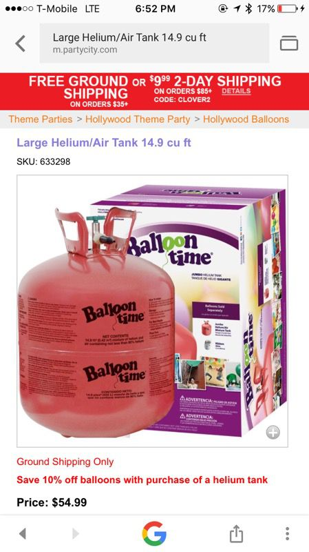 Balloon Time- Large Helium/Air tank for Sale in Stoughton, MA - OfferUp