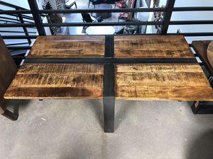 "bohemian rustic coffee table - 51"" x 28"" x 18"" for Sale in Miami, FL"