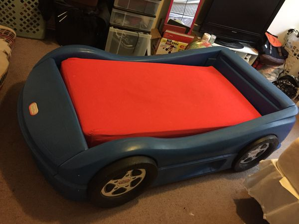 Price Lowered To 90 Kids Car Bed Only No Crib Mattress Colchon De