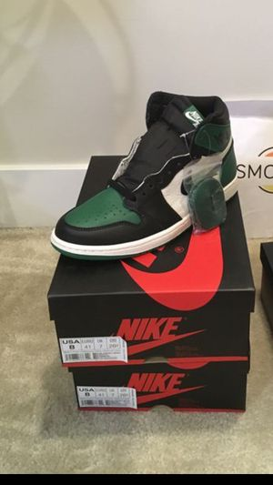 Air Jordan 1 Green 11.5 And 12 for Sale in Oxon Hill, MD