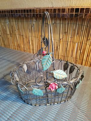 Pretty wire basket for Sale in Austin, TX