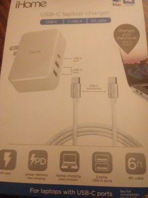 I home USB-C laptop charger for Mac for Sale in Lynchburg, VA