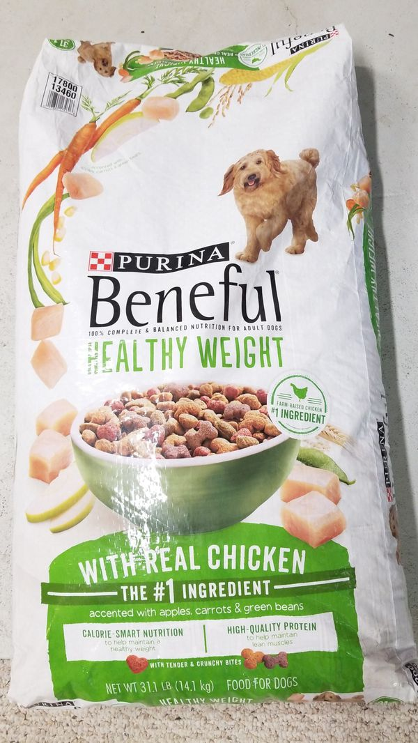 Purina Beneful Healthy Weight With Real Chicken Dog Food For Sale In