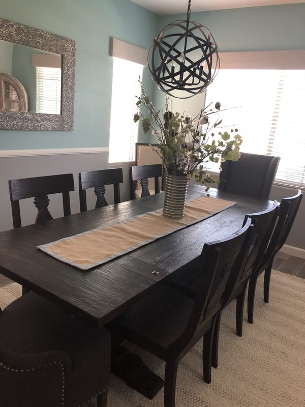 model home furniture for sale. 9 Piece Model Home World Market Dining Set For Sale In Goodyear, AZ - OfferUp Furniture