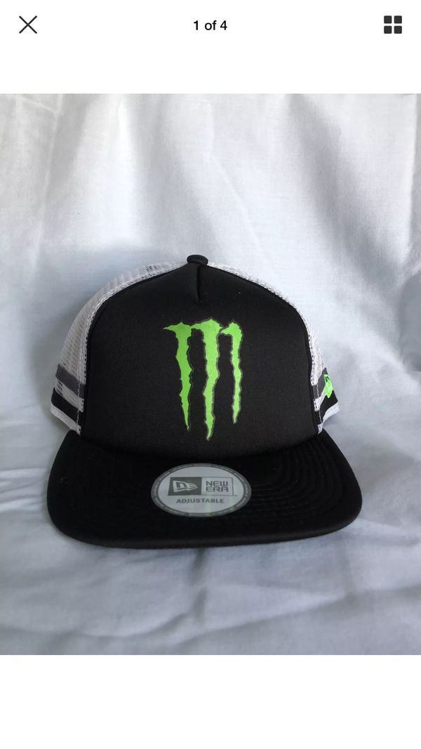 Monster energy athlete hat for Sale in Rialto 34558be15be