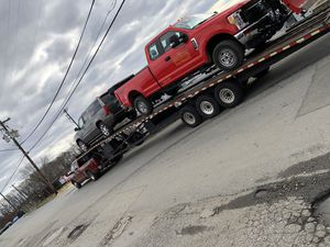 3 car Gooseneck Trailer Great condition for Sale in Fort Washington, MD