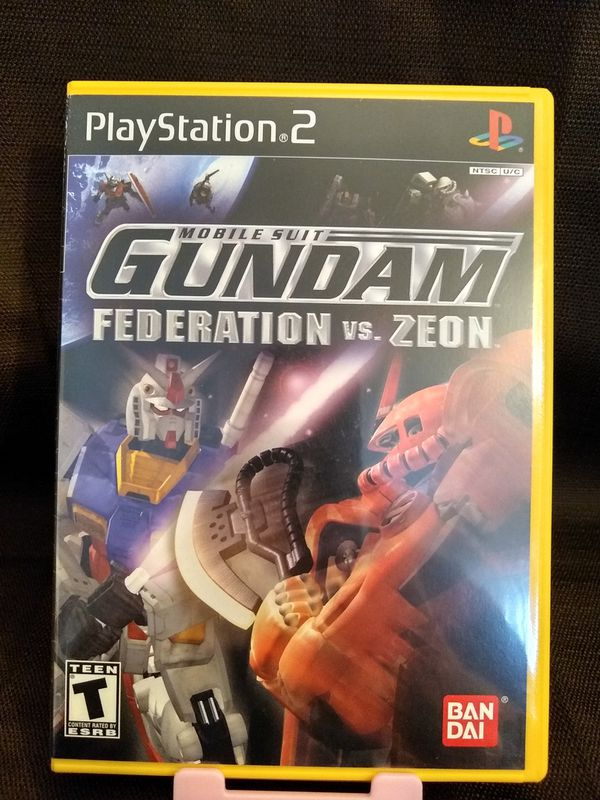 PS2 PlayStation 2 Mobile Suit Gundam Federation vs Zeon for Sale in  Riverside, CA - OfferUp