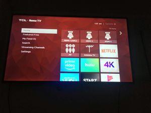 "55"" 4k UHD Roku smart TV for Sale in Germantown, MD"